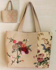 Handmade Embroidery Bag by Mingxiastore on Etsy