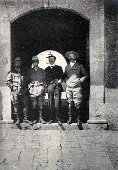 Henry Costin, Police comison, Manley, & Percy Fawcett, 5th expedition to the Amazon, 1911