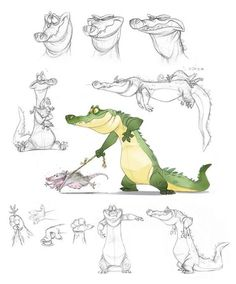 The Art Of Animation — Jeff Merghart Draw Character, Character Design Cartoon, Character Design Animation, Cartoon Design, Character Design References, Character Design Inspiration, Fantasy Character, Character Development, Animal Sketches