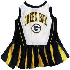 Pets First NFL Chicago Bears Dog Cheerleader Dress, Medium * Don't get left behind, see this great dog product : dog clothes