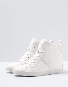 Berska Bayan Gizli Topuk Spor Ayakkabı Modelleri