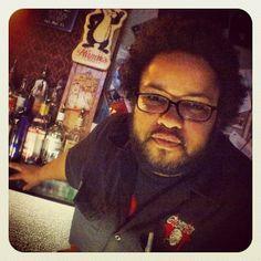 Our favorite bartender Tony at Grumpy's Bar
