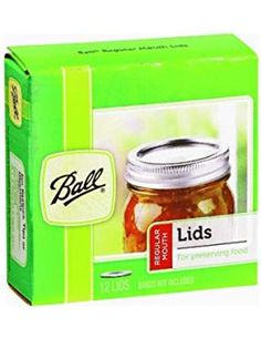 Ball Regular Mouth Lids for preserving fit all regular mouth glass preserving jars. Ball Mouth Lids(Not contain acting lid). Canning Lids, Mason Jar Lids, Can Lids, Stewed Tomatoes, Homemade Salsa, Harvest Time, Preserving Food, Glass Jars, Kitchens