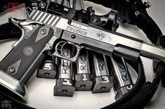 Manufacturer: STI Mod.Trubor 9 Type - Tipo: Pistol Caliber - Calibre: 9 mm Capacity - Capacidade: 20 Barrel length - Comp.Cano: 5 Weight - Peso: 49...