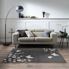 Decomall Rome Modern Geometric Abstract Stripe Pattern Area Rug Neutral Color for Living Room Family Room Bedroom Neutral Rugs, Room, Grey Rugs, Family Room, Living Room Colors, Neutral Colors, Family Living Rooms, Rugs, Area Rugs