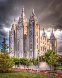 Salt Lake Temple - Utah.