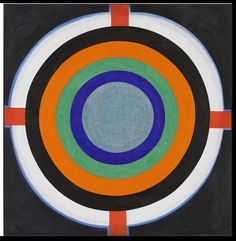 Kenneth Noland was an American abstract painter. He was one of the best-known American Color field painters, although in the 1950s he was thought of as an abstract expressionist and in the early 1960s he was thought of as a minimalist painter.