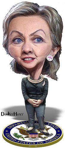 Caricature of Hillary Clinton, Secretary of State & former Lady Cartoon People, Cartoon Faces, Funny Faces, Cartoon Art, Caricature Artist, Caricature Drawing, Funny Caricatures, Celebrity Caricatures, Famous Cartoons