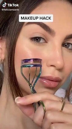 Curl Lashes, Eyelashes, Eye Curler, Skin Makeup, Beauty Makeup, Important Makeup Tips, Makeup Looks Tutorial, Makeup Techniques, Everyday Makeup