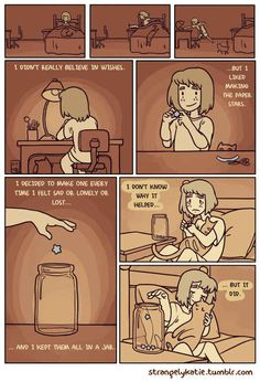 11 Comics Every Introvert Will Understand. I pinned this just because I find the paper star thing to be a scary similarity to myself