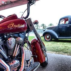 Indian Motorcycle at Daytona