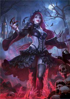 Fantasy art vampire demons 65 ideas for 2019 Dark Fantasy Art, Fantasy Girl, Fantasy Art Women, Fantasy Kunst, Fantasy Warrior, Anime Fantasy, Fantasy Artwork, Demon Artwork, Warrior Angel