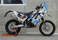 New KTM 690 Kit - KTM Basel - Defy Series - Horizons Unlimited - The HUBB