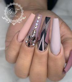 Sexy Nails, Glam Nails, Dope Nails, Fancy Nails, Bling Nails, Stiletto Nails, Beauty Nails, Pretty Nails, Blue Nail Designs