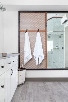 Serene Master Bathroom | HGTV >> http://www.hgtv.com/design-blog/shows/tour-the-diy-network-blog-cabin?soc=pinterest