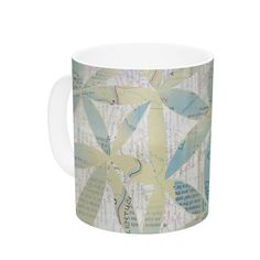 East Urban Home Miraculous Recovery by Catherine Holcombe 11 oz. Butterfly Ceramic Coffee Mug