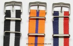 A selection of watch straps from #mauricedemauriac