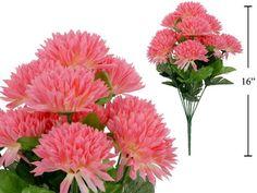 10 Stems Deluxe Chrysanthemum, Artificial Flower (Pink) Jed Home http://www.amazon.com/dp/B00BO206V6/ref=cm_sw_r_pi_dp_3W6.ub05HPM1N