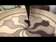 Pottery: Making Ceramic Texture Rollers Stamps - YouTube