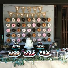 Wedding donuts. Yes. Yes. Yes.#donuts #weddingwins #melbournecelebrant…