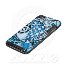 Zentangle Tangle in Blue iPod Speck Case