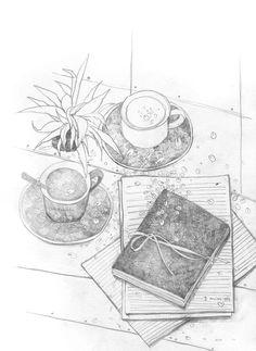 Xuan Loc Xuan on Behance Anime Drawings Sketches, Pencil Art Drawings, Ink Illustrations, Cute Illustration, Pop Art Wallpaper, Doodle Art Designs, Sketch Inspiration, Urban Sketching, Pen Art