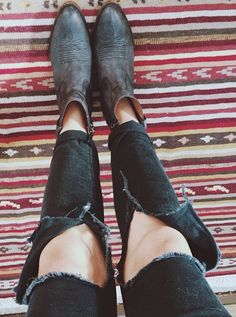 @alternativeindi having a ripped jeans and Nasty Gal booties kinda day! #NastyGalsDoItBetter || Get the boots: http://www.nastygal.com/by-nasty-gal-shoes/nasty-gal-fox-fire-leather-boot