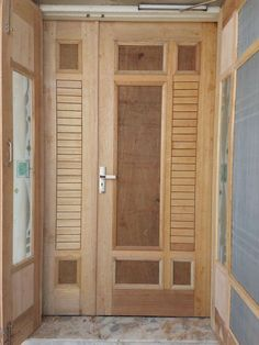 Interior Wood Doors – What You Must Look for While Buying Interior Wood Doors Wooden Glass Door, Wooden Front Door Design, Double Door Design, Door Gate Design, Room Door Design, Entrance Design, Wooden Doors, Custom Wood Doors, Doors And Floors