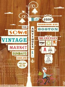 Swing by the SoWa Vintage flea market in the city for browsing #MyDayinStitchFix