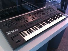 The Roland JD-800 was produced between 1991 and 1993 and is a futuristic looking keyboard with a host of hands-on controls! Despite looking fairly daunting, the JD-800 is actually very intuitive, offering immediate controls for all synth-editing parameters.  The JD-800 is a digital synthesiser that uses ROM-based waveforms to create sounds. #roland #jd800 #synth