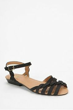 Bass Clementine Leather Sandal