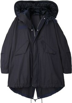 The Best Spring Jackets and Coats to Buy Now: Sacai Luck parka, $1,178, available at La Garconne.
