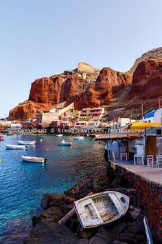 Ammoudi Port, Oia, Santorini