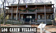 Log Cabin Village, located just across the street from the Ft. Worth Zoo, consists of ten 19th century buildings, all working as if they were plucked off of the farms they were originally on, and plunked down in Fort Worth, furniture and all. You can go at your own pace through the village, stopping at what interests you, exploring as you go. There is so much to see and do here, you will want to take your time.