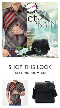 """""""NEWCHIC 23."""" by hany-1 ❤ liked on Polyvore featuring men's fashion and menswear"""