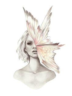 Kelly Smith, fashion illustration, fashion, art, illustration, drawing, painting