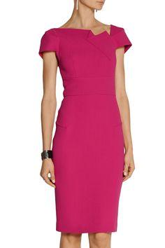 Roland Mouret | Lepas wool-crepe dress | NET-A-PORTER.COM