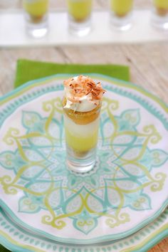Key Lime Pie Shots