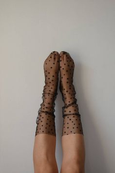 Items similar to Pink Stars Tulle Socks on Etsy Floral Socks, Lace Socks, Silk Socks, Mesh Socks, Ankle High Socks, Socks And Heels, Nylons, Parisian Chic Style, Fishnet Stockings