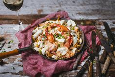 Lobster Meat, How To Cook Lobster, Fodmap, Poutine Recipe, Lobster Bisque, Italian Spices, Cheese Curds, Oranges And Lemons, Grated Cheese
