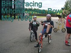 BHPC racing Milton Keynes May 1999 (HPV / recumbent) - YouTube......
