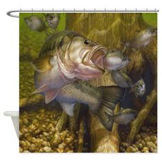Bacova Guild Born to Fish Shower Curtain Hooks by Bacova Guild