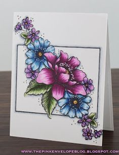 The Pink Envelope: Altenew - Garden Treasure + Copic Coloring