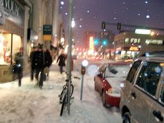 Ann Arbor, Michigan - this is why I love Winter.