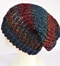 Check out this item in my Etsy shop https://www.etsy.com/uk/listing/499238939/blue-hipster-hat-blue-slouchy-beanie