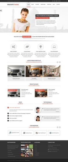Delicate is a Clean, Highly Flexible, Feature rich and Fully responsive WordPress theme. Fit for any niche; Health, education, medical, sports, business, non-profit,software, security or design etc.,