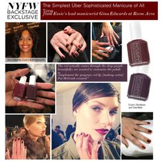 """""""The Simplest Uber Sophisticated Manicure of All Time"""" by polyvore-editorial on Polyvore"""