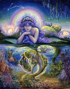 Pisces - by Josephine Wall