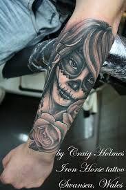 dia de los muertos girl tattoo designs - Google Search