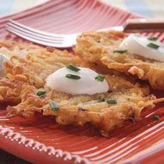 Classic Potato Latkes Allrecipes.com